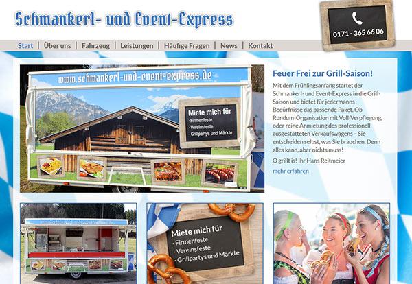 Neue Website für den Schmankerl- und Event-Express