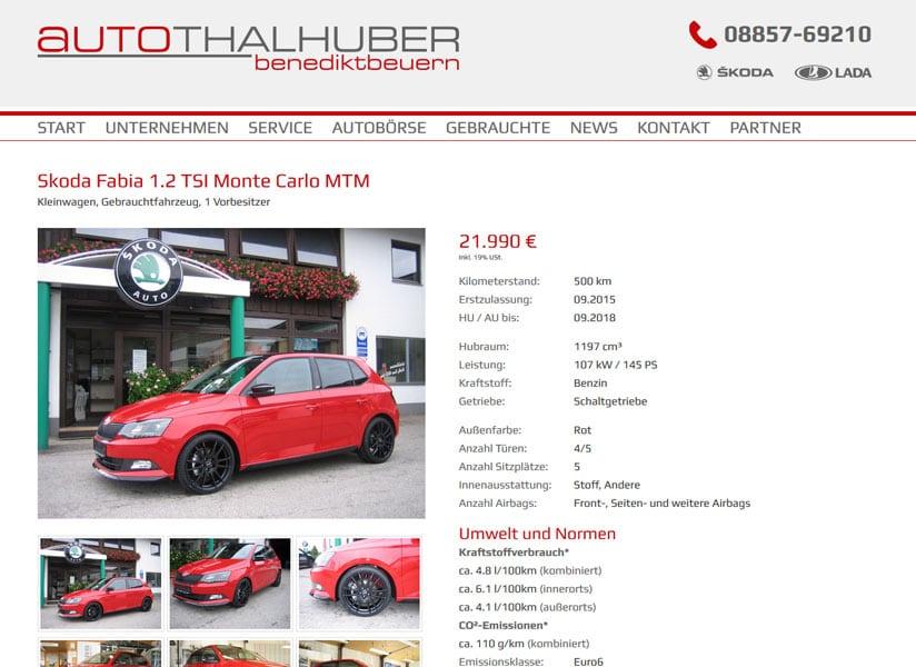 Autohaus Thalhuber
