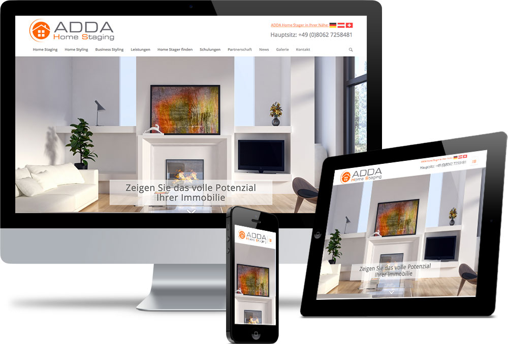 Adda Homestaging Referenzen