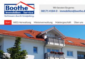 Boothe Immobilien Service Logo