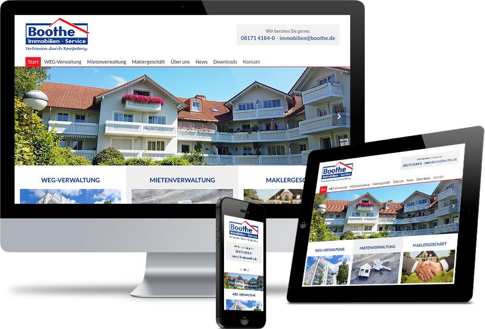 Boothe Immobilien Service Referenzen