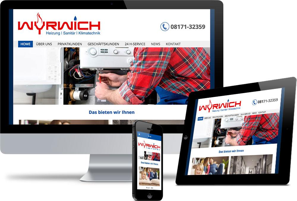 Haustechnik Wyrwich Referenzen