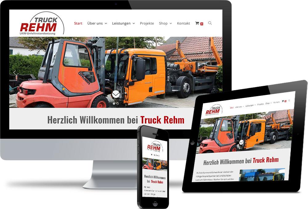 Truck Rehm Referenzen